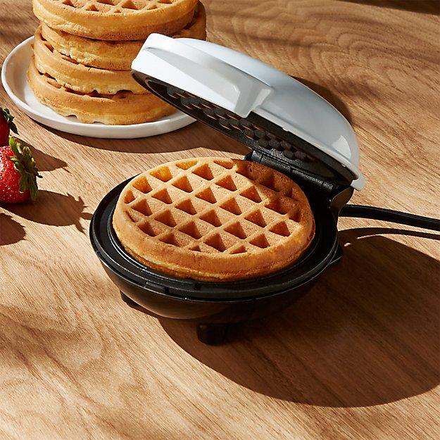 Dash ® White Mini Waffle Maker - Image 1 of 7