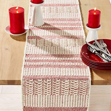 Dasher 90 Wool Table Runner