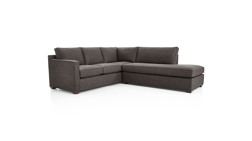 Davis 2-Piece Right Bumper Sectional Sofa