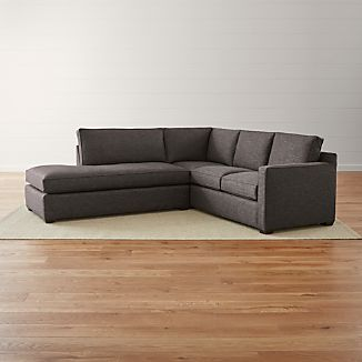 Fabric Sectional Sofas Crate and Barrel