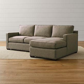 Superieur Davis 2 Piece Right Arm Chaise Sectional Sofa