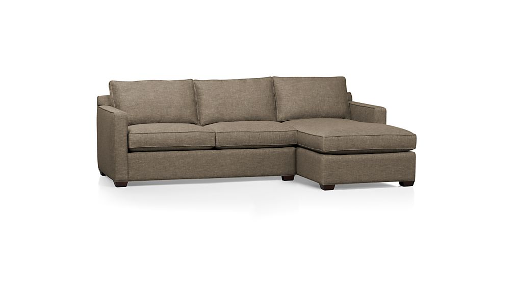 Davis 2-Piece Right Arm Chaise Sectional Sofa