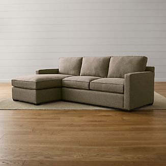Davis 2-Piece Left Arm Chaise Sectional Sofa