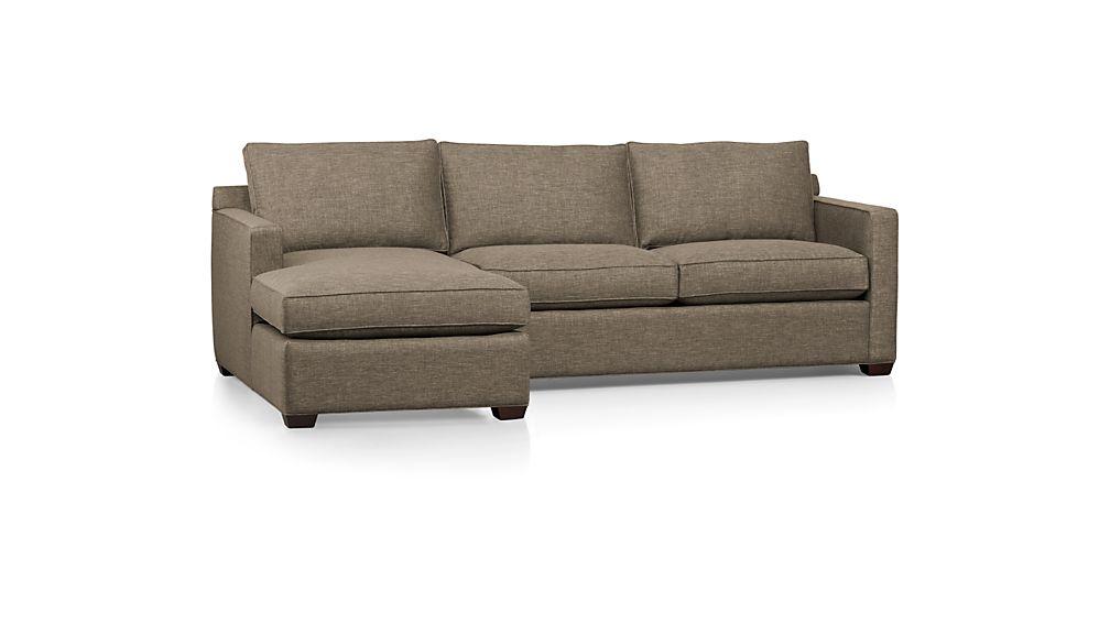 Davis 2-Piece Left Arm Chaise Sectional Sofa
