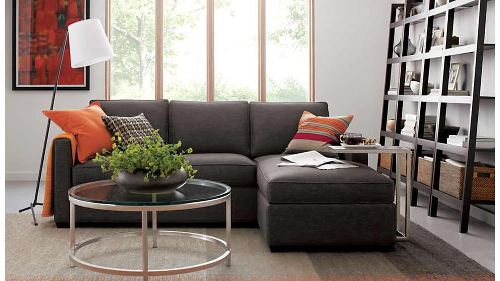 Davis Sectional Lounger | Crate and Barrel