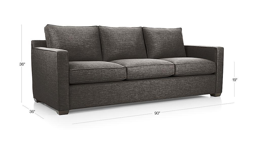 Davis 3 Seat Queen Sleeper Sofa