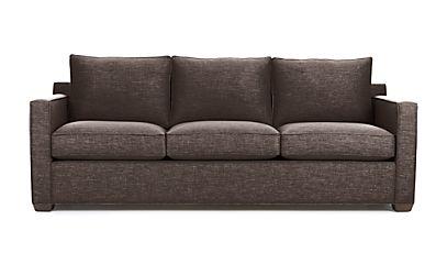 Davis 3 Seat Sofa Darius Graphite