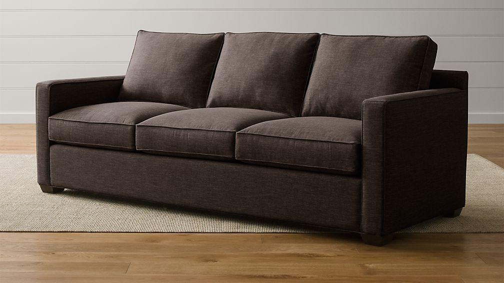 Davis 3 Seat Queen Sleeper Sofa with Air Mattress Crate and Barrel