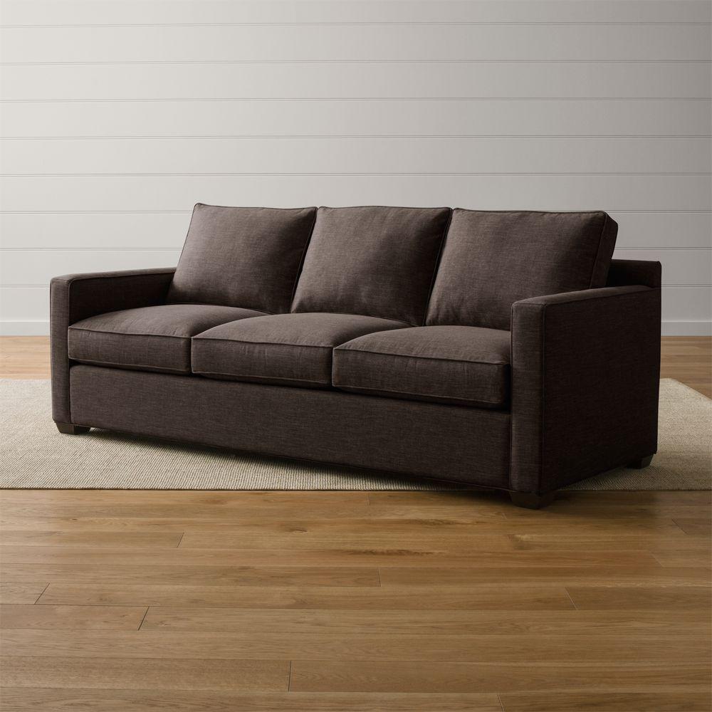 Davis 3-Seat Queen Sleeper Sofa - Crate and Barrel