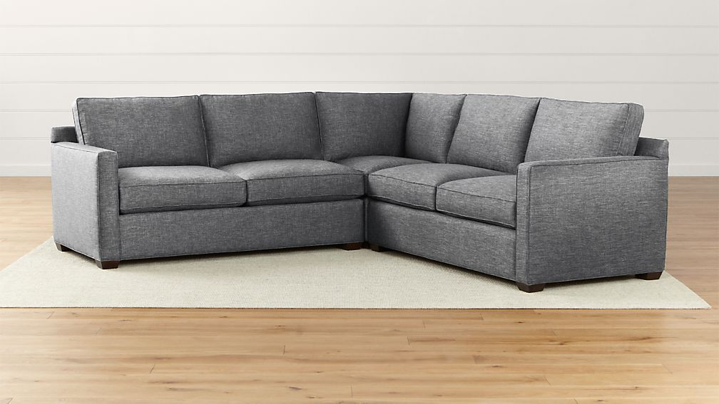 3 piece sectional sofas delta city steel 3 piece sectional for Brighton taupe 3 piece chaise and sofa set