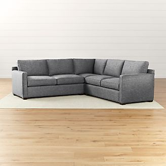 Davis Sectional Pieces and Sleepers Crate and Barrel