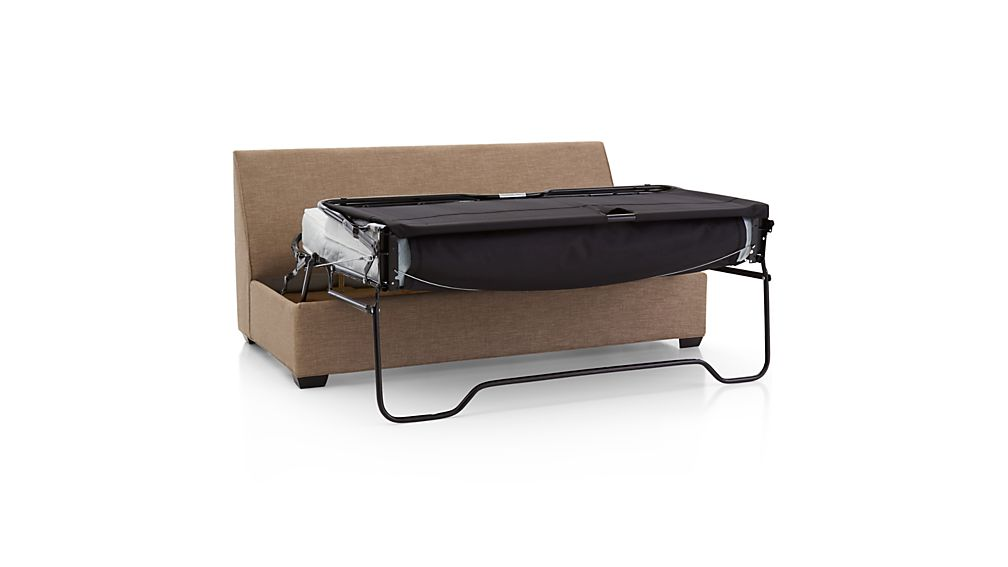 Davis Armless Full Sleeper Sofa with Air Mattress