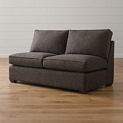 Davis 3 Piece Sectional Sofa Reviews Crate And Barrel