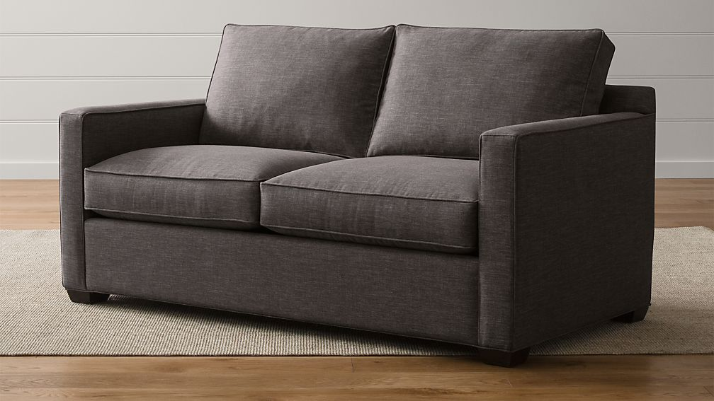 davis apartment sofa in sofas reviews crate and barrel