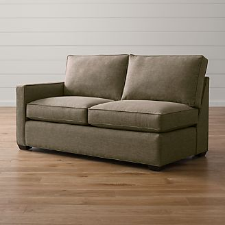Davis Left Arm Apartment Sofa : crate and barrel davis sectional - Sectionals, Sofas & Couches
