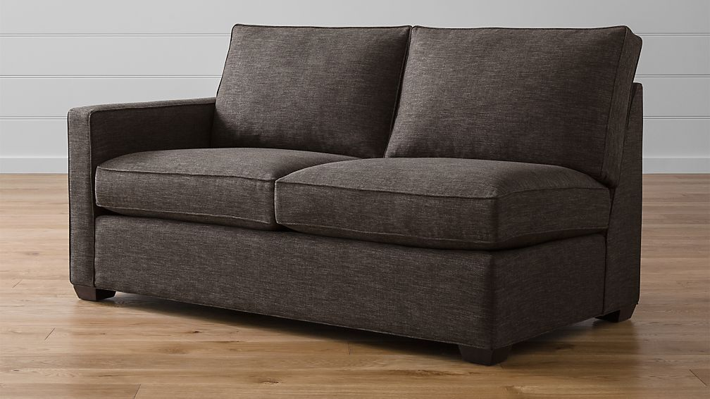 Davis Left Arm Apartment Sofa Crate And Barrel
