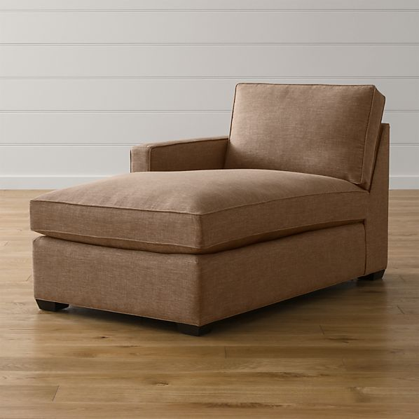 Davis Left Arm Chaise Lounge