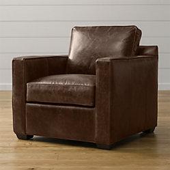 Davis Comfortable Leather Sofa Crate And Barrel