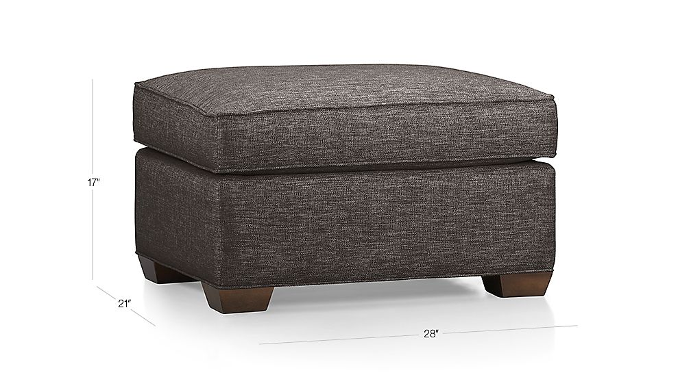 Davis Ottoman In Ottomans Amp Cubes Reviews Crate And Barrel