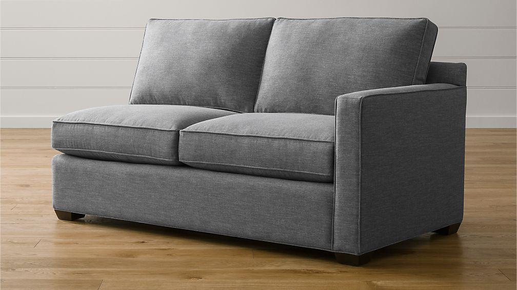 Davis Right Arm Apartment Sofa - Image 1 of 3