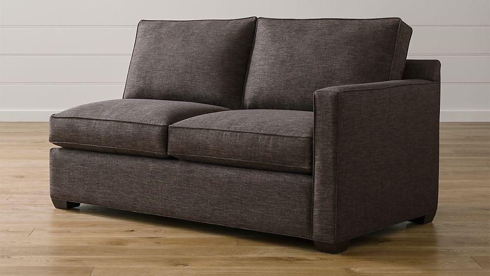 Davis Right Arm Apartment Sofa - Image 1 of 2