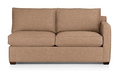 Davis Right Arm Full Sleeper Sofa Darius Mink