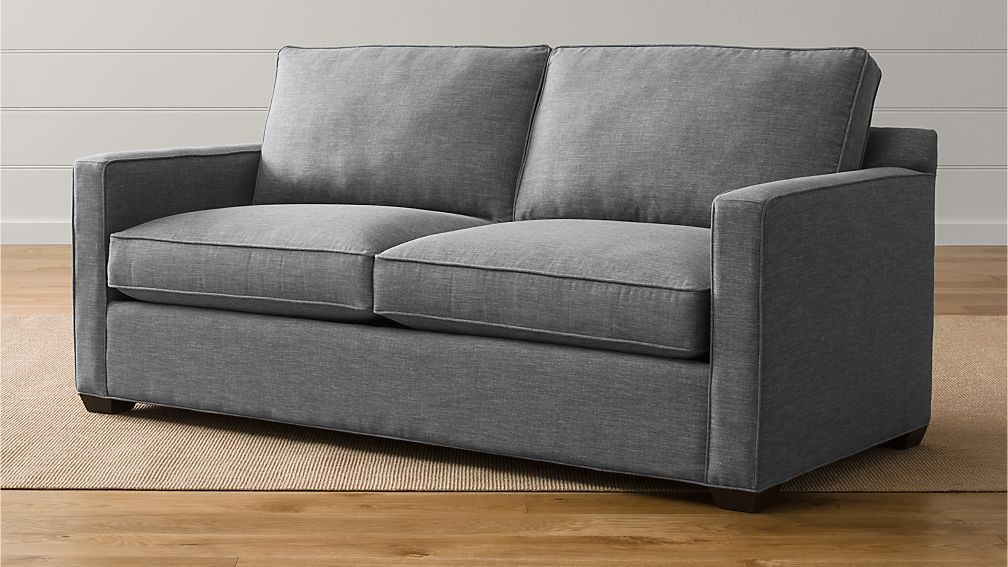 davis queen sleeper sofa | crate and barrel