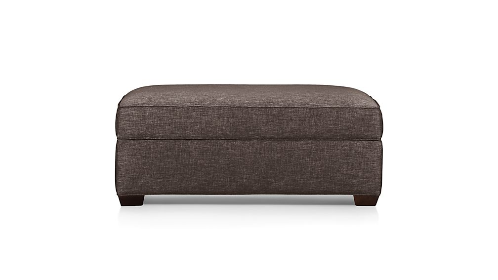 Davis Storage Ottoman Crate and Barrel