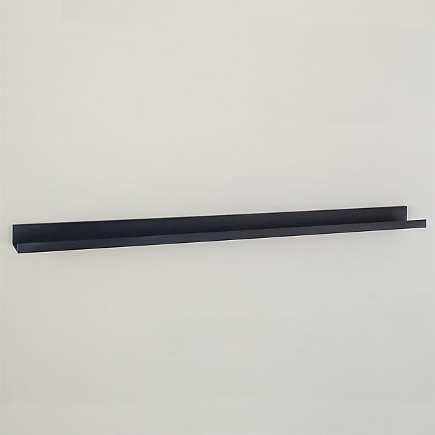 "Davis 48"" Zinc Wall Shelf - Image 1 of 2"