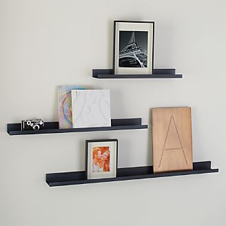 Wall Decor Shelves home wall decor, mirror wall art and shelves | crate and barrel