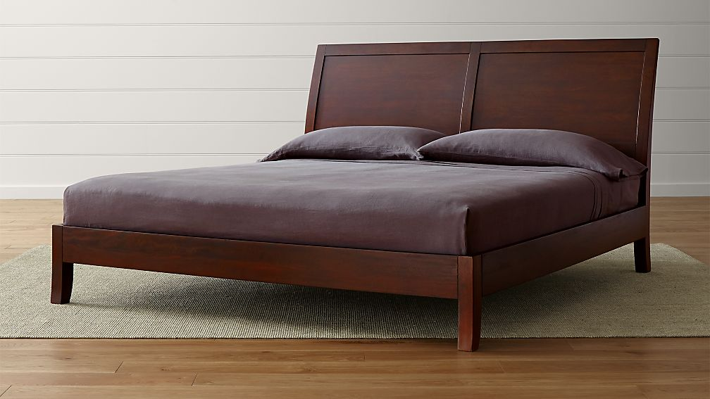 Dawson Clove King Sleigh Bed - Image 1 of 8