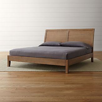 Dawson Grey Wash King Sleigh Bed