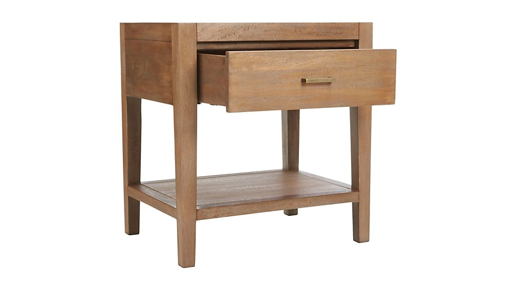 Dawson Grey Wash Nightstand
