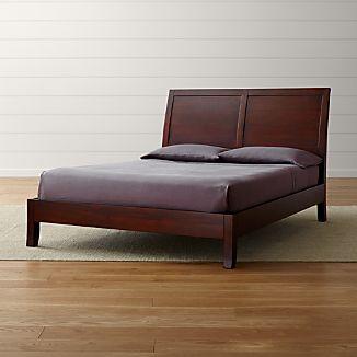 Dawson II Clove Queen Sleigh Bed