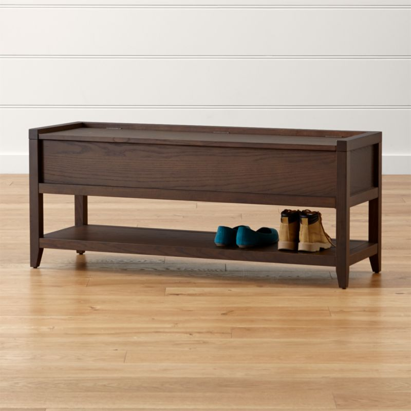 Dearborne Storage Bench Reviews Crate And Barrel