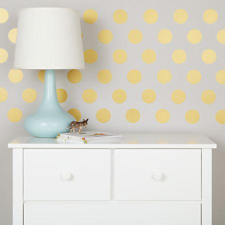 Gold Polka Dot Wall Decals Reviews