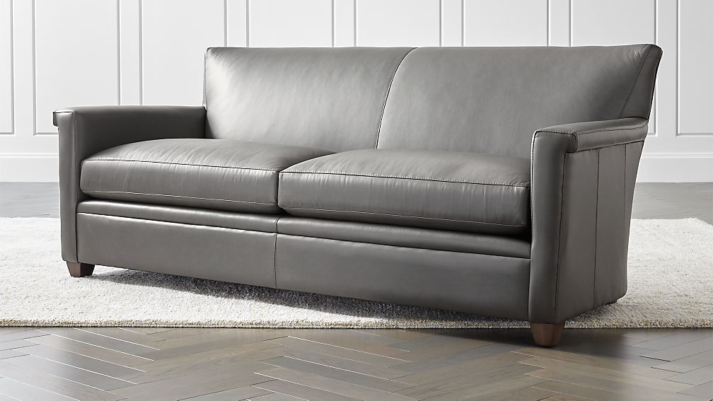 Declan Leather Sofa - Image 1 of 6