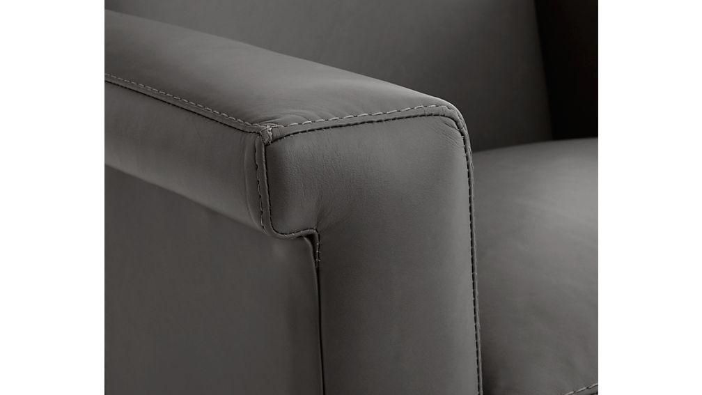 Declan Leather 360 Swivel Chair
