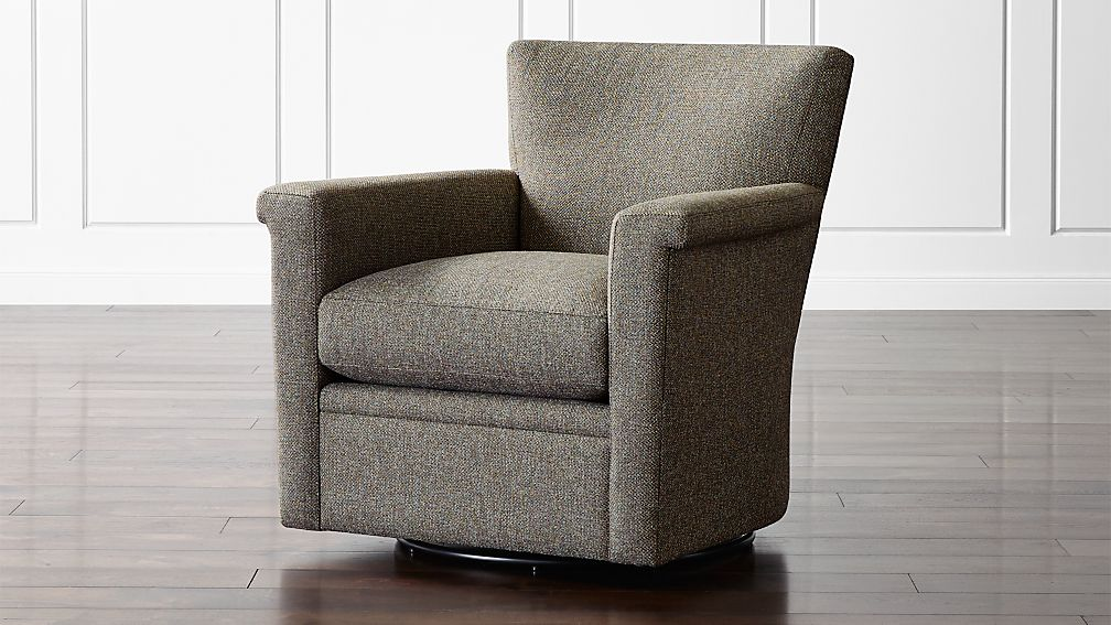 Declan 360 Swivel Chair Crate And Barrel