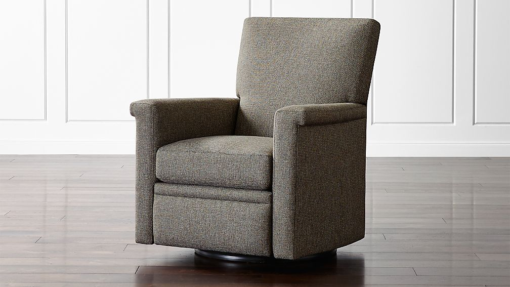 Declan 360 Swivel Recliner Reviews Crate And Barrel