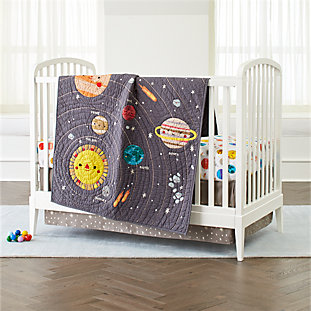 Outer Space Crib Bedding