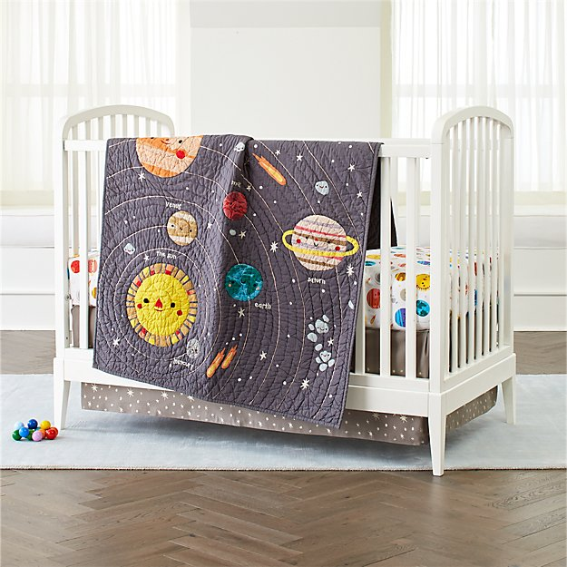 Deep Space Crib Bedding