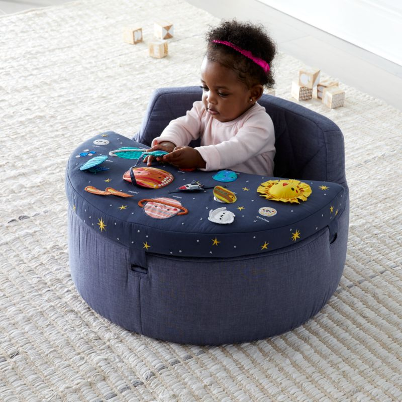 Deep Space Baby Activity Chair Reviews Crate And Barrel