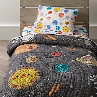 Outer Space Toddler Bedding Kids
