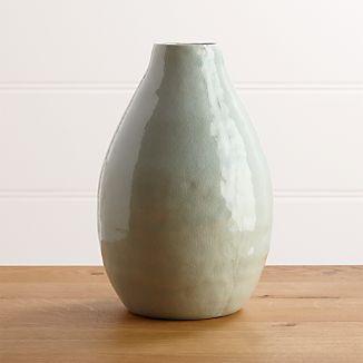 Delia Large Seafoam Vase