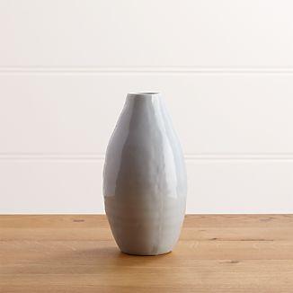 Delia Medium Periwinkle Vase