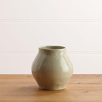 Delia Small Sage Vase
