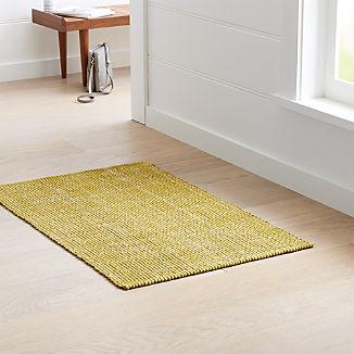 Della Citron Cotton Flat Weave Rug