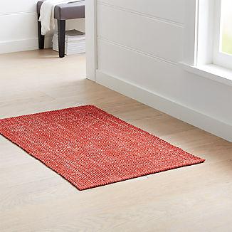 Della Sienna Cotton Flat Weave Rug