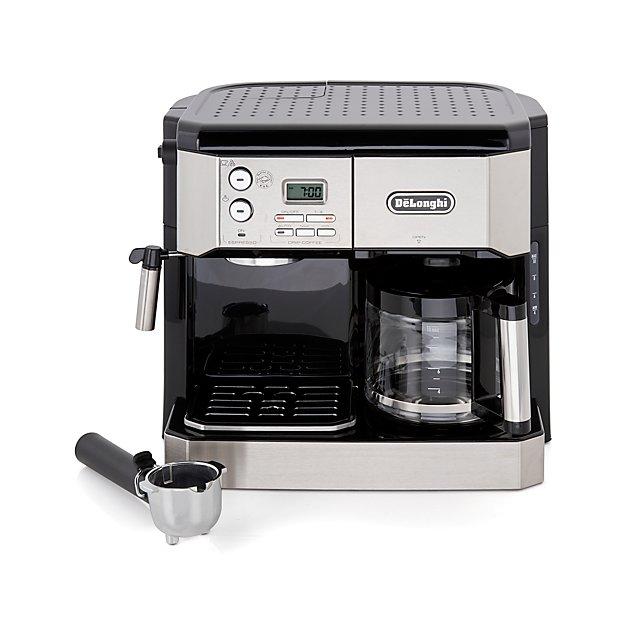 5fb0bfb3e34d De'Longhi Combination Coffee/Espresso Machine + Reviews | Crate and Barrel
